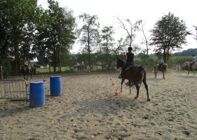 Gezinsweekend bitloos paardrijden