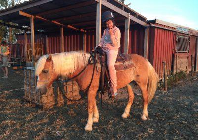 Paardrijden in pyjama